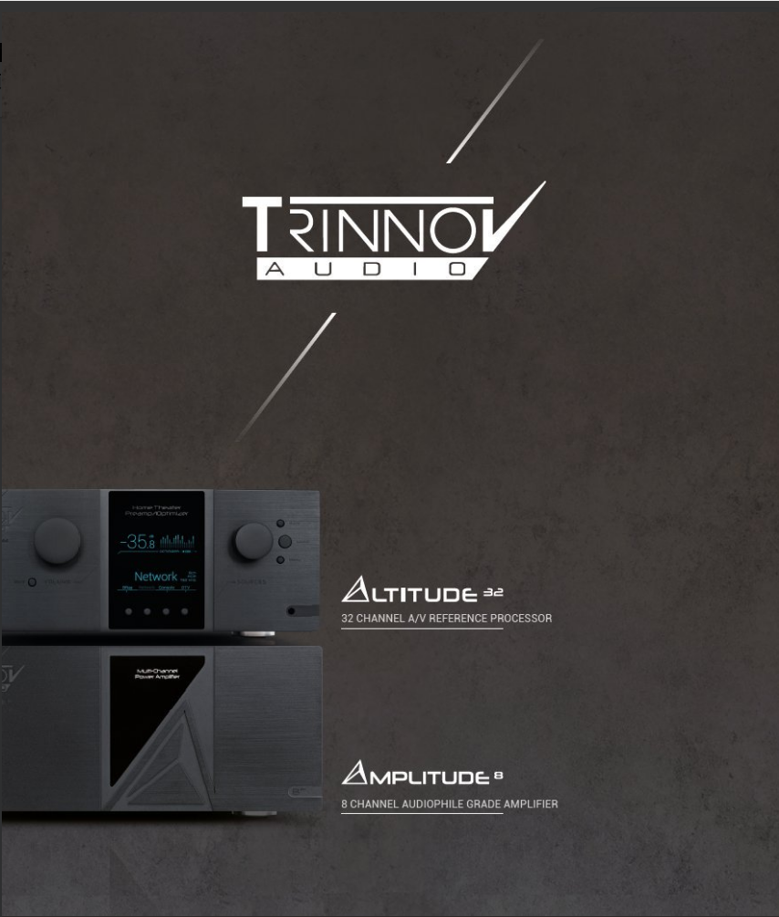 品牌   沉浸式环绕声技术开山鼻祖!法国顶级环绕声处理前级品牌Trinnov Audio的崛起!