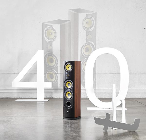 """新品丨""""四十周年纪念""""Focal Spectral 40th音箱"""