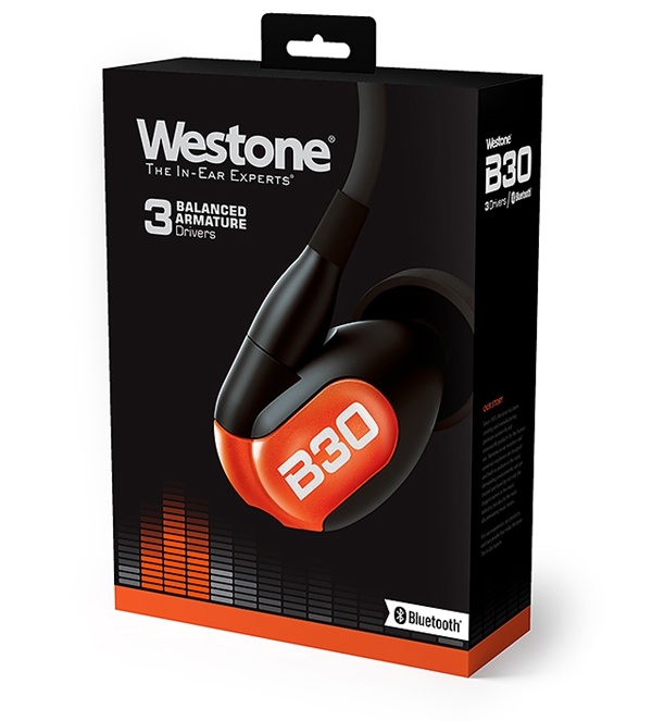 新品   为流行乐爱好者打造:Westone B30入耳式耳机