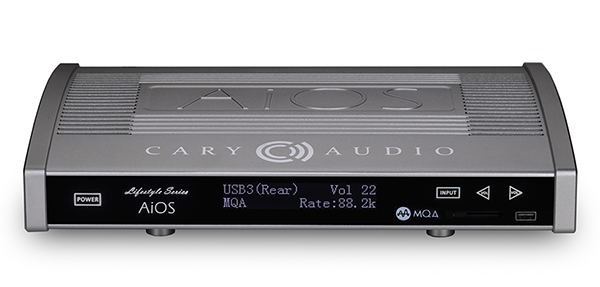 新品 | 多功能All in One:Cary Audio AiOS串流播放器