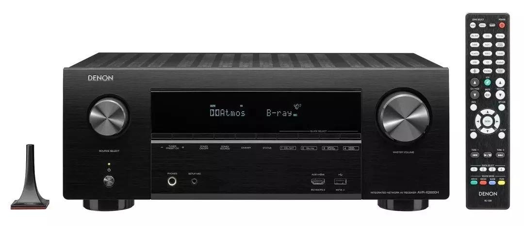 视频测评 | 360度沉浸包围声!Denon X系列功放AVR-X2600H & AVR-X1600H