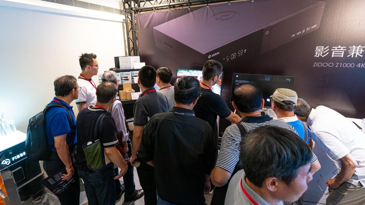 展会丨靓丽高清视界,FIBBR菲伯尔携8K光纤线登临台湾音响展