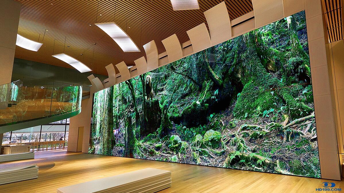 新品 | 令人惊叹的索尼8KK Crystal LED屏幕