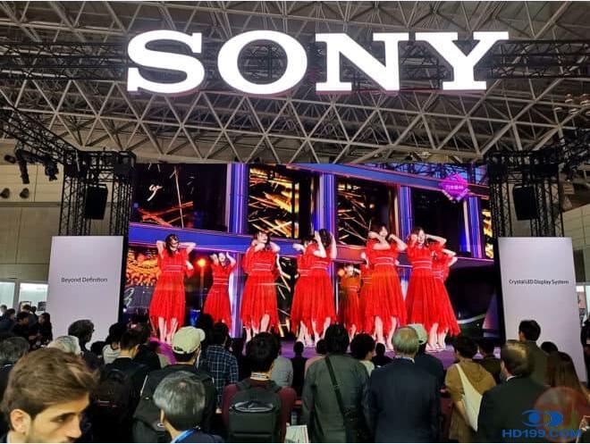 新品   令人惊叹的索尼8KK Crystal LED屏幕
