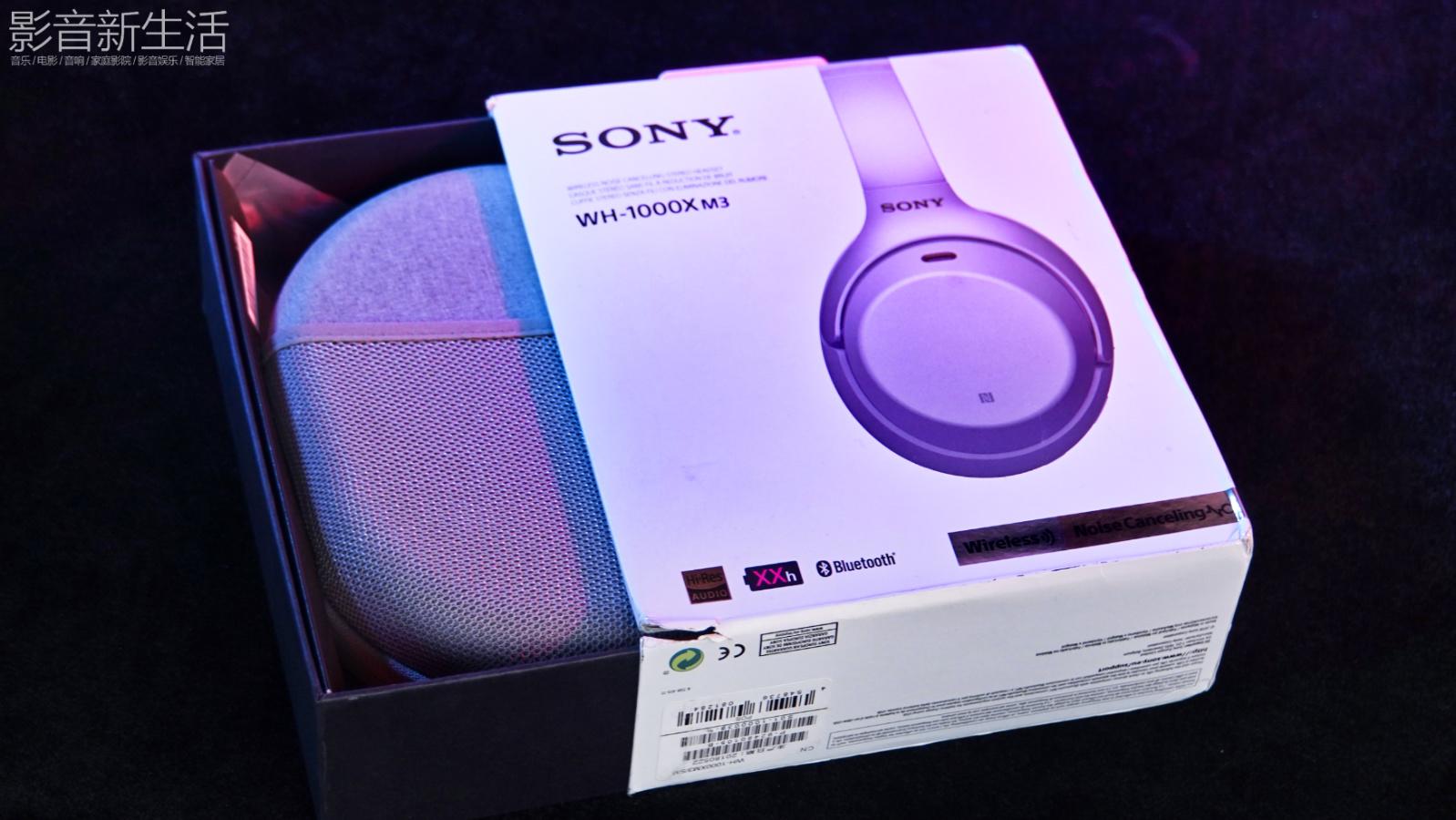 """推荐   """"不只是颜值,感受噪声消失后的乐趣""""SONY WH-1000X M3蓝牙无线主动降噪耳机"""
