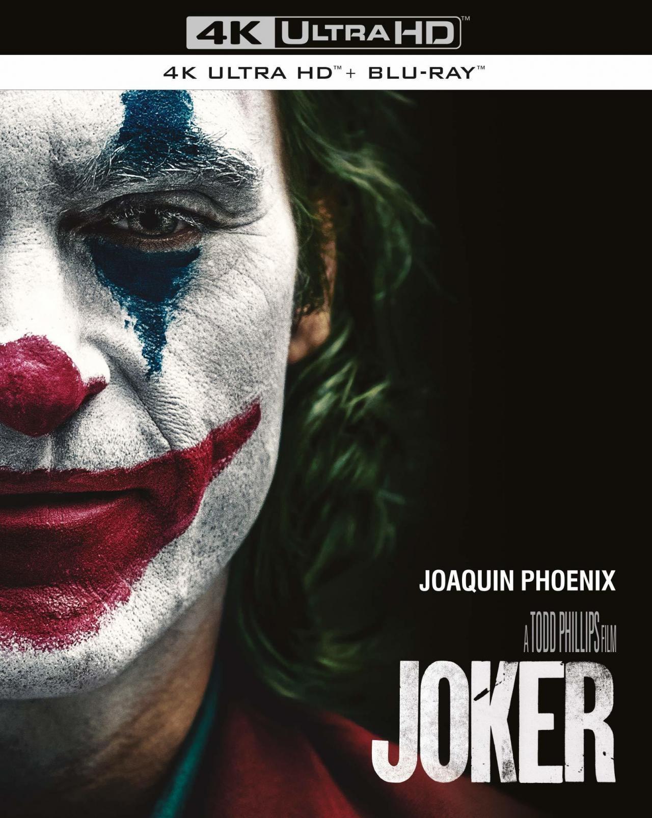 新碟 | 4K HDR 美影 | 小丑 Joker (2019)
