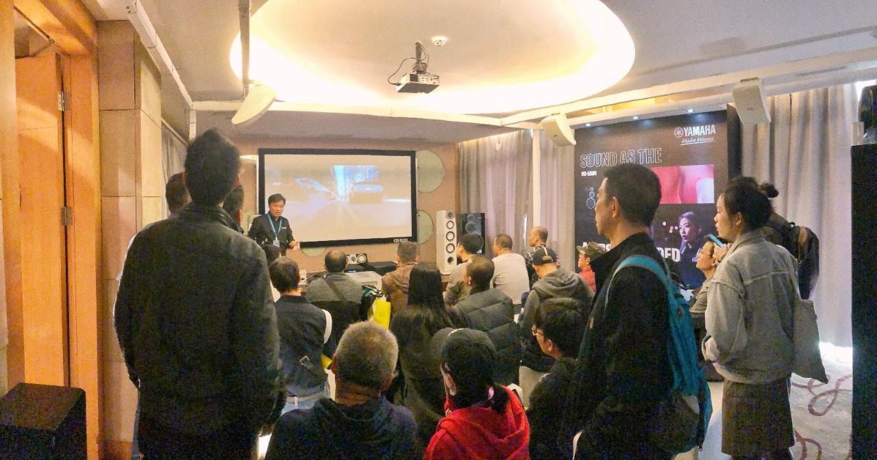 展会报道:雅马哈家庭音响亮相2019广州国际音响唱片展