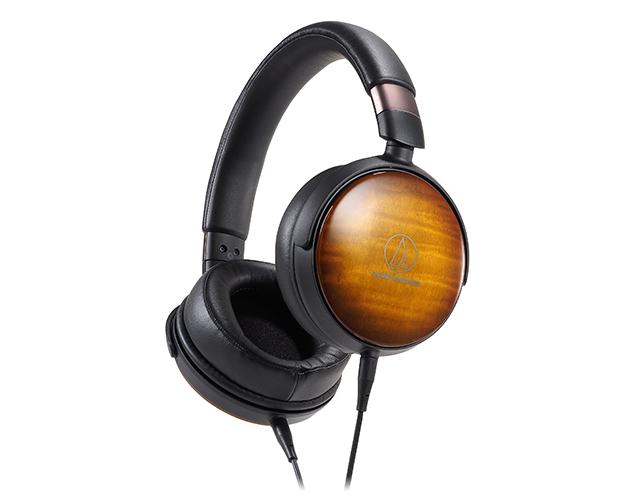 新品|铁三角Audio-Technica发表三款木质耳罩耳机