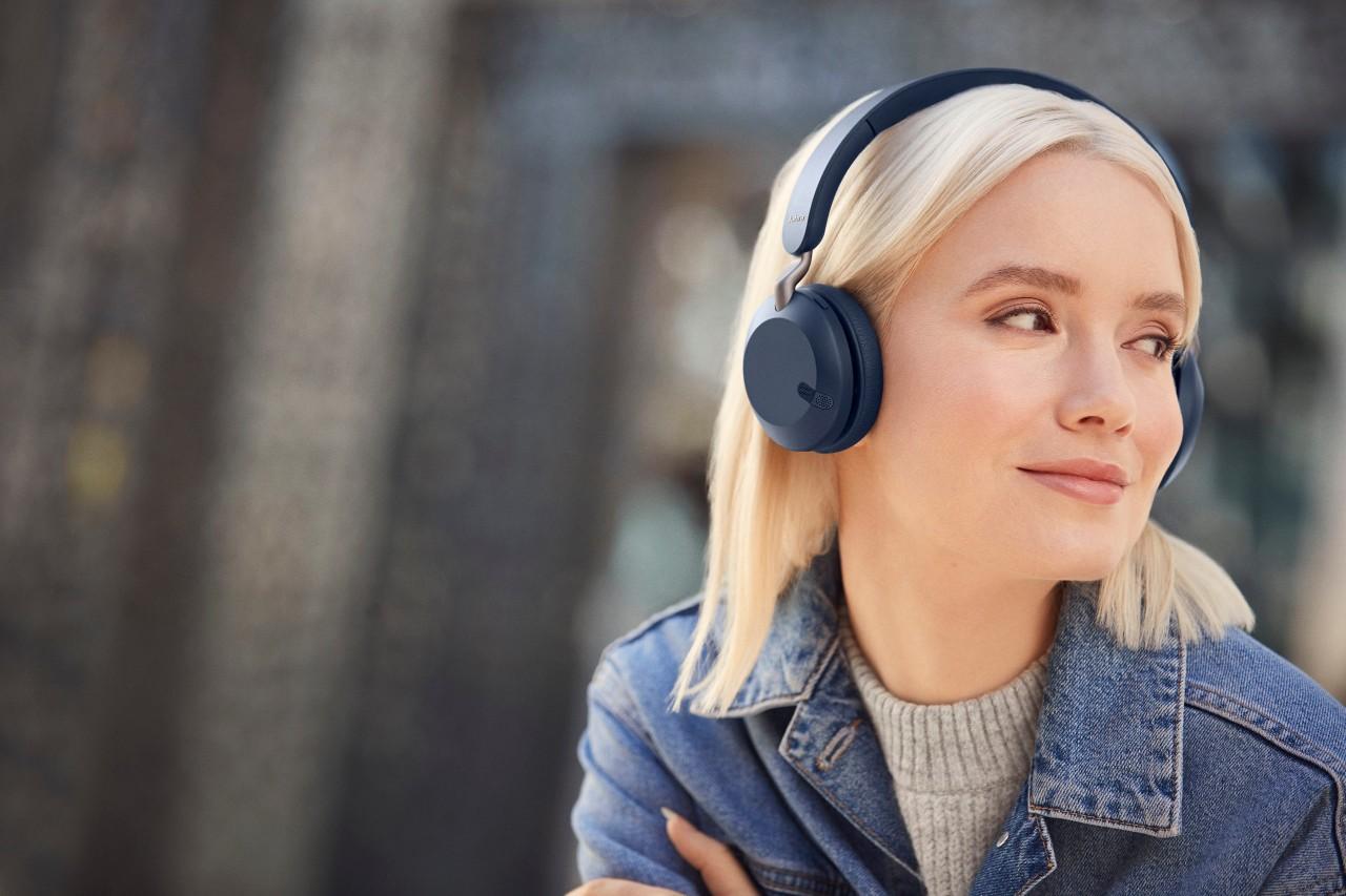 """新品   """"首款入门级产品""""Jabra 捷波朗 Elite 45头戴式蓝牙耳机"""
