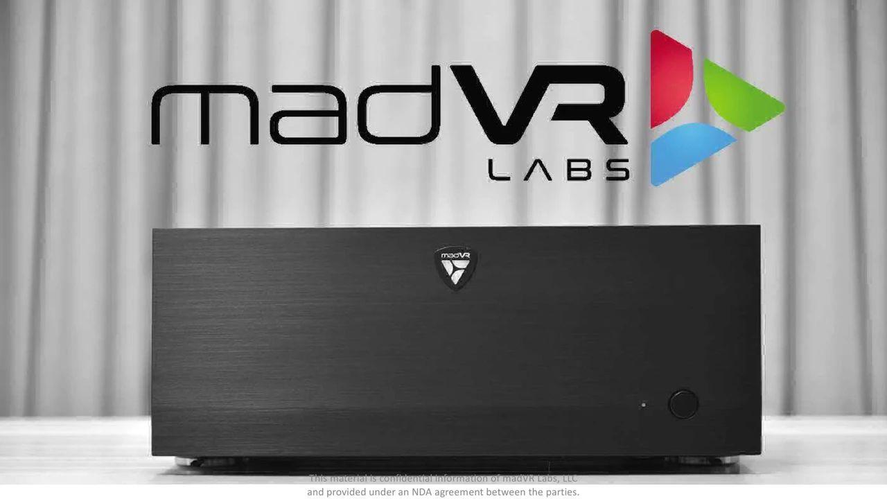 最新丨米乐影音正式代理美国视频处理器madVR Envy