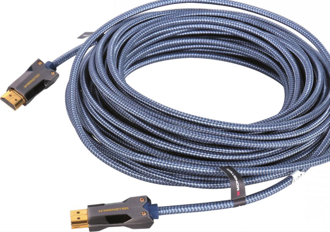线材丨为全新的极致声画享受而备,Monster(魔声) M3000光纤HDMI线