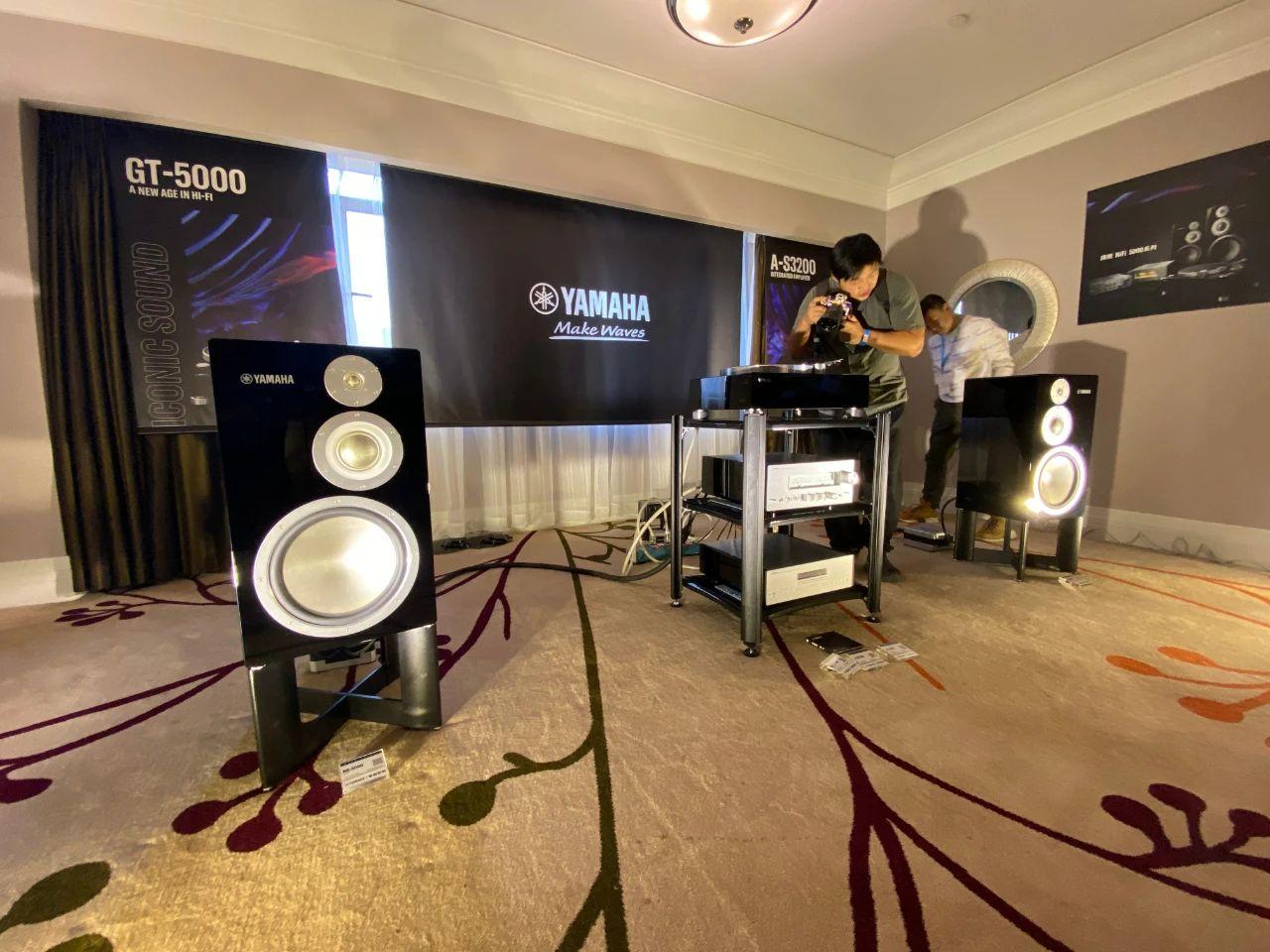 现场丨Yamaha雅马哈HIFI旗舰5000系列全家桶首次亮相本届上海SIAV展会!