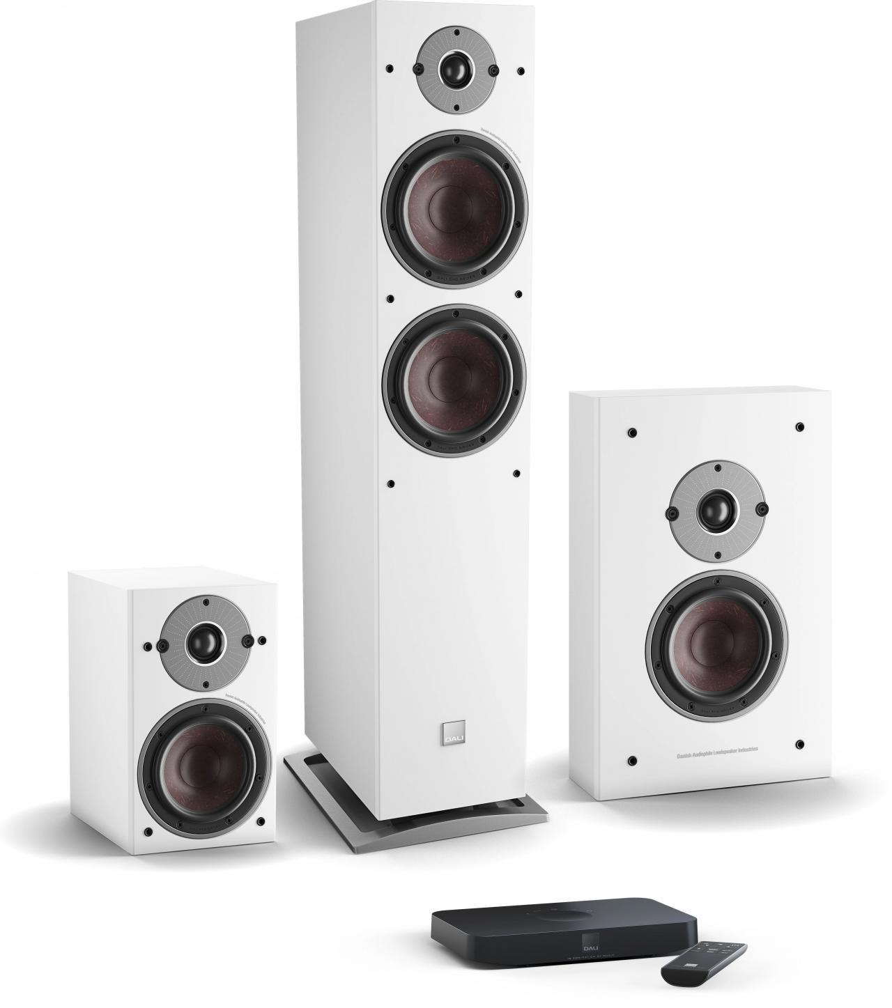 产品丨全新DALI OBERON C系列无线音箱系统,轻松聆听纯正达尼音质(一)