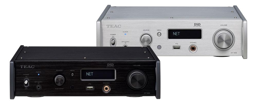 """新品丨""""平价超强机种进化登场""""TEAC NT-505 网络串流播放器"""