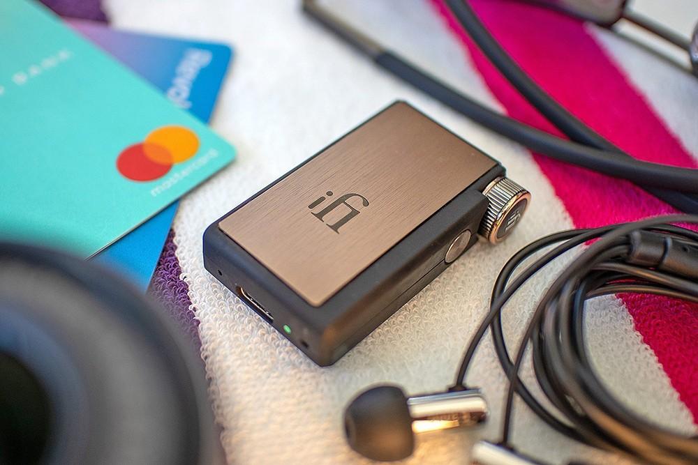"""新品丨""""比你想象的还强大""""iFi Go Blu随身蓝牙DAC耳放"""