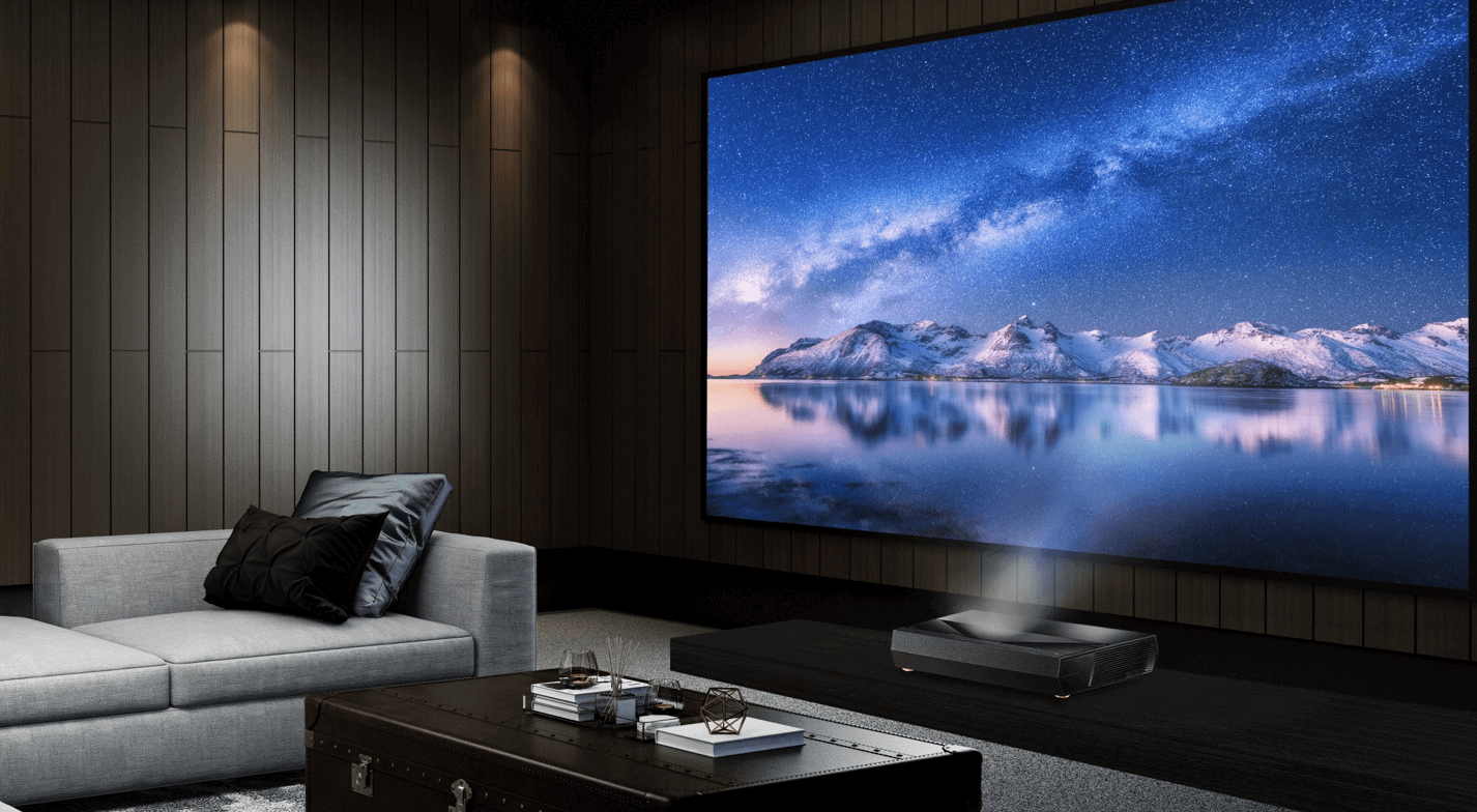 关于家庭影院 搭配激光电视使用的抗光幕是什么?