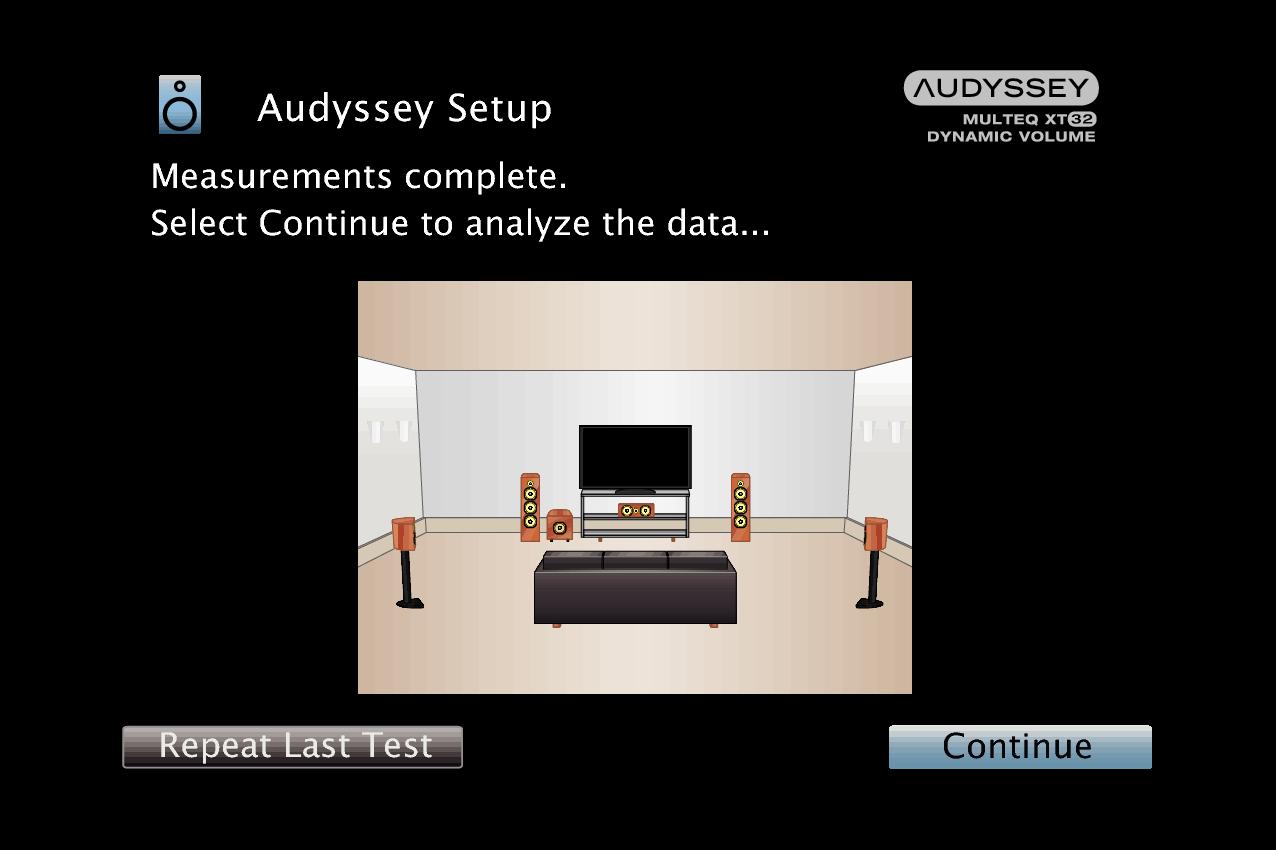 GUI AudysseySetup11 MultEQ XT32