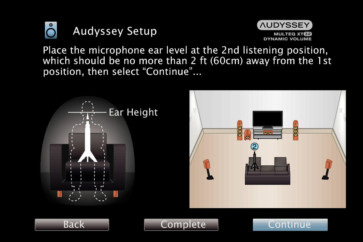 GUI AudysseySetup9 MultEQ XT32