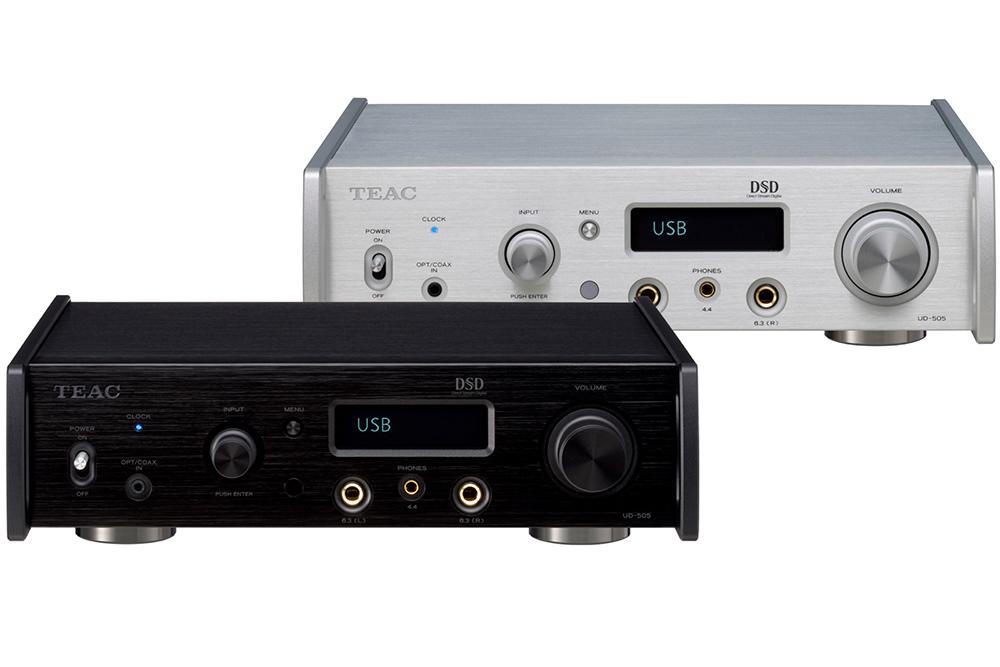 """新品丨""""改用 ESS ES9038 Q2M Reference 芯片""""Teac UD-505X DAC 耳机放大器"""