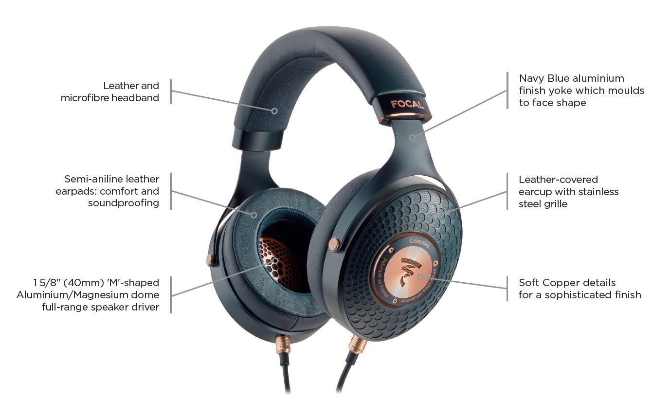 """新品丨""""集结法式品味于一身""""Focal Celestee密闭式头戴耳机"""